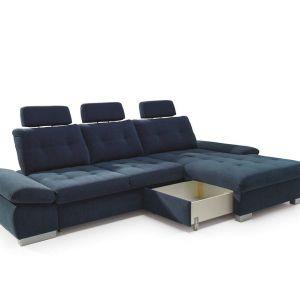 Wypełnienie siedziska: sprężyny faliste, pianka wysokoelastyczna HR. Fot. Stagra Meble