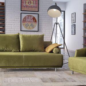 Sofa do salonu dostępna w kolekcji Zafira dostępna w ofercie firmy Libro. Fot. Libro