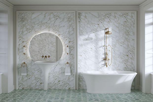 Piękna stylowa wanna do łazienki: to nowość luksusowej marki