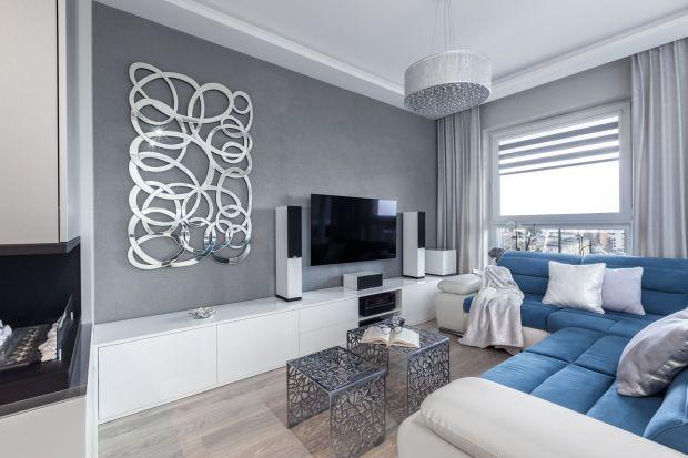 Jak wykończyć ścianę z telewizorem w salonie? To ważne pytanie, zwłaszcza jeśli mamy otwarty,nowoczesny pokój dzienny. Zobaczcie nasze pomysły na ścianę telewizyjną w pokoju!
