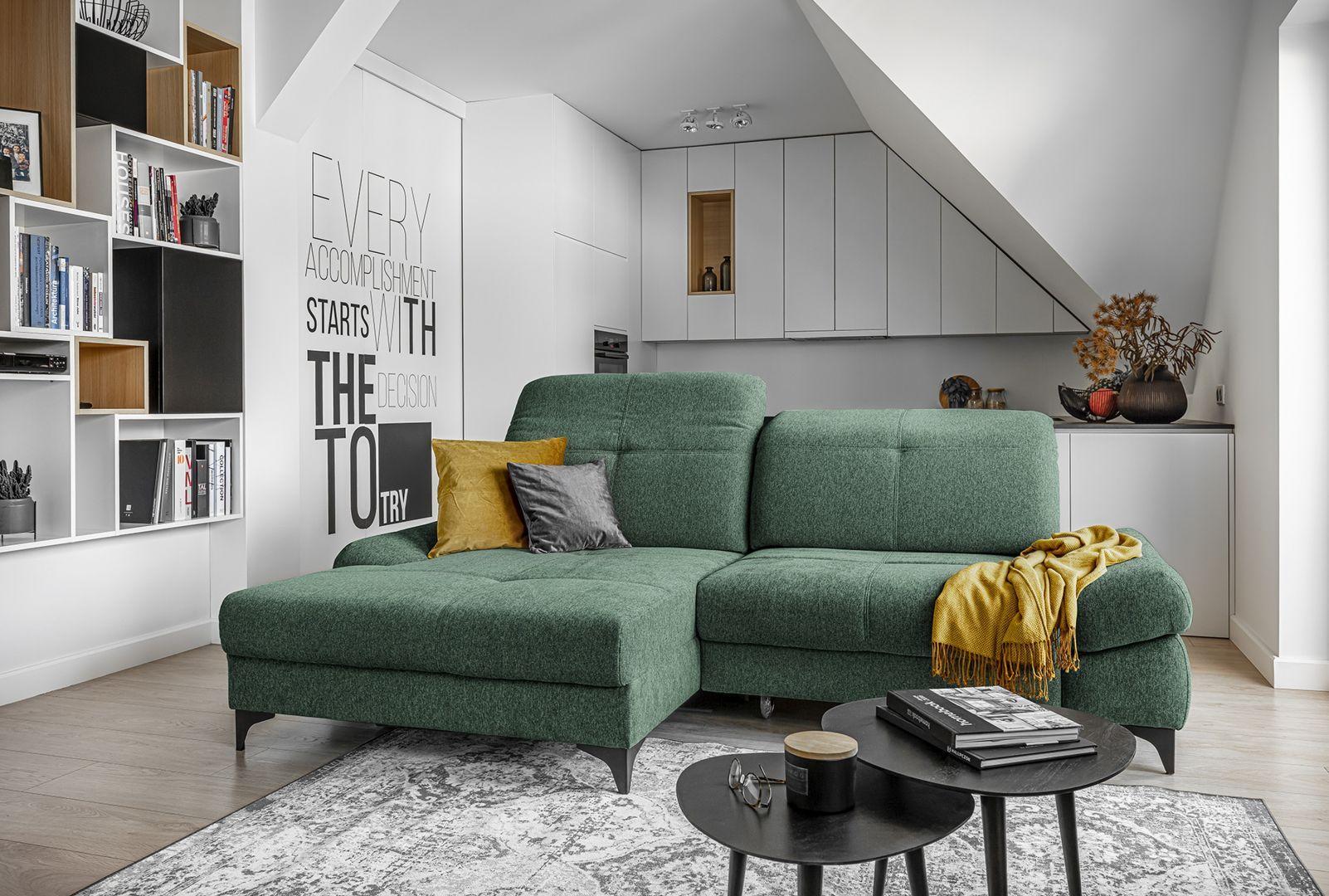 Sofa z kolekcji Carmen dostępna w ofercie firmy Meble Wajnert. Producent: Meble Wajnert