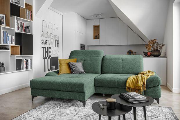 Jak wybrać idealną kanapę do salonu? Podpowiadamy, jaka sofa będzie dobra w salonie i pokazujemy 20 ładnych kolekcji mebli z polskich sklepów, które warto znać.