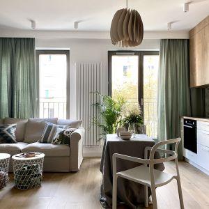 38-metrowe mieszkanie jest jasne i przytulne. Projekt: Zuzanna Kuc, pracownia ZU Projektuje