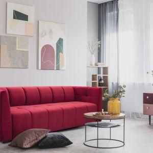Nowe sofy Saxo, Paxi i Gaja zachwycają nie tylko przemyślanym, oryginalnym designem i mnogością kolorów obicia do wyboru. Na zdj. model Gaja Sweet Sit