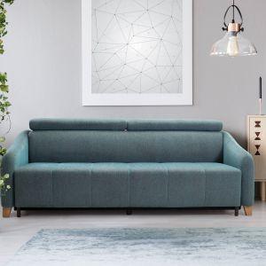 W ofercie marki Sweet Sit, należącej do polskiej firmy Gala Collezione, z łatwością dobierzemy rozmiar kanapy do pomieszczenia. Na zdj. Model Saxo Sweet Sit