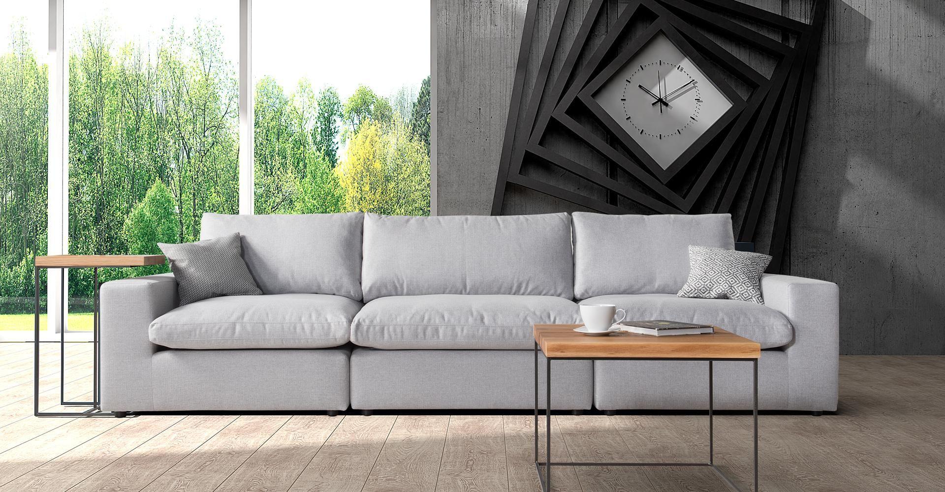 Sofa do salonu z kolekcji Joko dostępna w ofercie firmy Caya Design. Fot. Caya Design