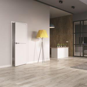Drzwi Saga zostały wykończone laminatem CPL, dzięki czemu wyróżniają się bardzo wysoką odpornością na uszkodzenia. Fot. RuckZuck