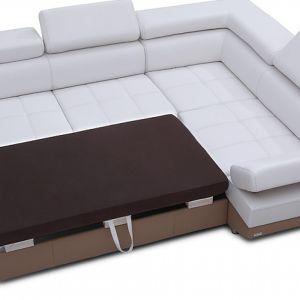 Narożnik wyposażony jest w funkcję spania. Fot. Caya Design