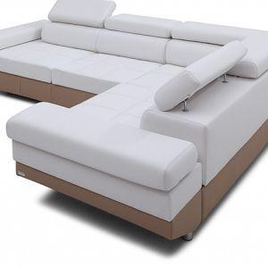Biała sofa będzie pasowała praktycznie do całej palety barw, jak również do każdego materiały wykończeniowego. Fot. Caya Design