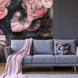 Pomysł na ścianę w salonie - tapeta artystyczna. Tapeta Nature's Victory. Marka: Walltime