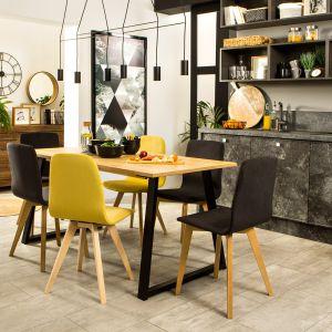 Stół Vario Modern jest w pełni modyfikowalny, co pozwoli Ci dopasować go do osobistych preferencji i możliwości wnętrza. Blat - 279 zł, krzesło - od 287 zł. Producent: Black Red White