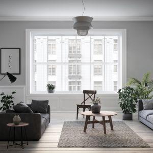 Na rynku znajdziemy szyby, których przepuszczalność pozwala na lepsze doświetlenie pokojów, a wstawienie jest porównywalne ze zwiększeniem powierzchni okna o 8%. Fot. Saint-Gobain