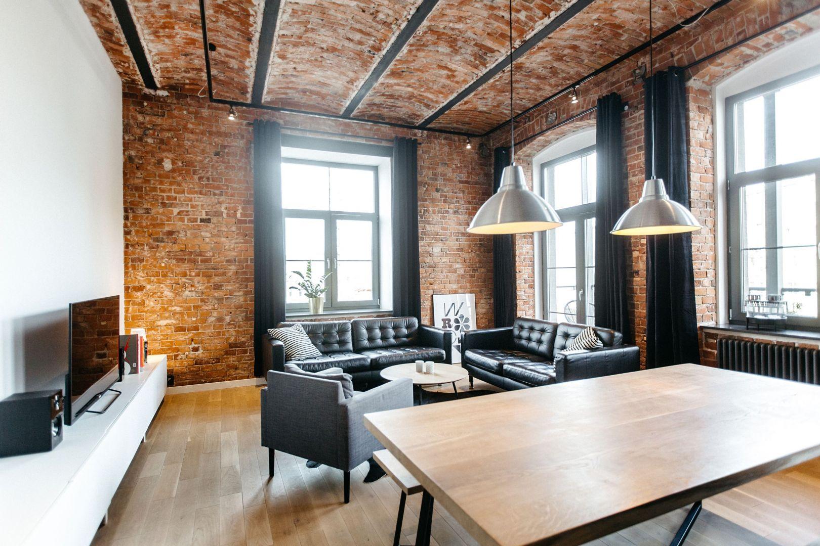 Styl industrialny, loftowy we wnętrzach. Projekt i zdjęcia: Nowa Papiernia
