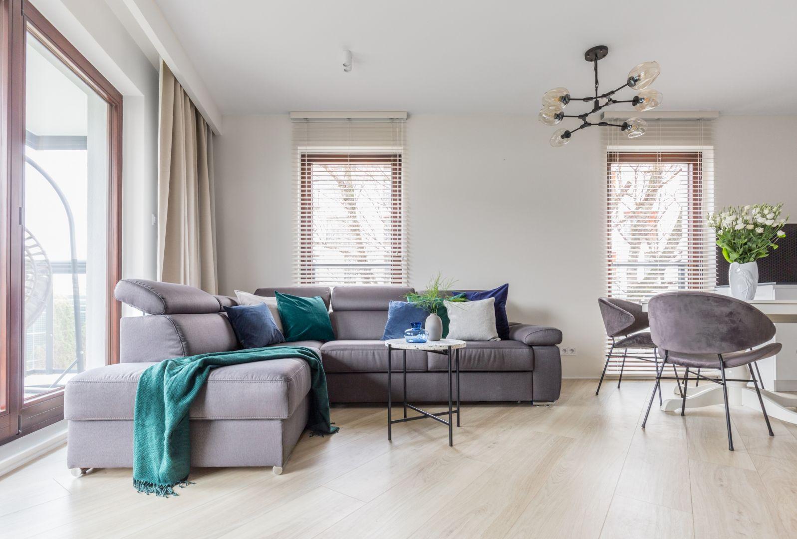 Sofa w salonie - najlepsze aranżacje i pomysły. Projekt: Deer Design