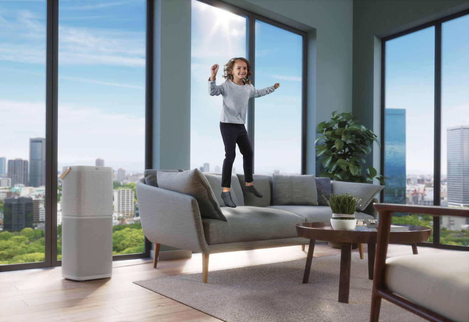 Jakość powietrza to bardzo ważny aspekt, który wpływa nie tylko na nasze zdrowie, ale i samopoczucie.  Fot. Electrolux