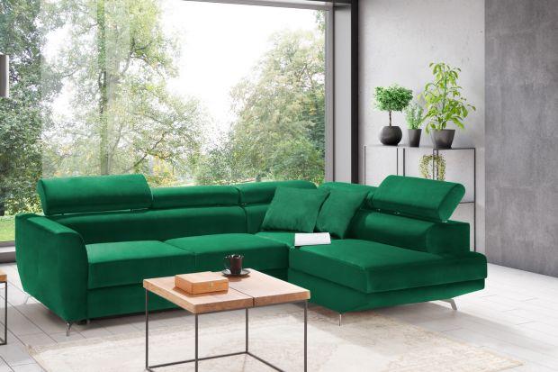 Narożnik do salonu to świetny pomysł. Możecie wybrać modele w modnym, szarym kolorze lub w pięknym zielony niebieskim kolorze. Warto też wziąć pod uwagę narożnik z funkcją spania. To świetne rozwiązanie.