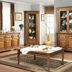 Meble do salonu z kolekcji Orfeusz dostępne w ofercie firmy Meble Taranko. Fot. Meble Taranko