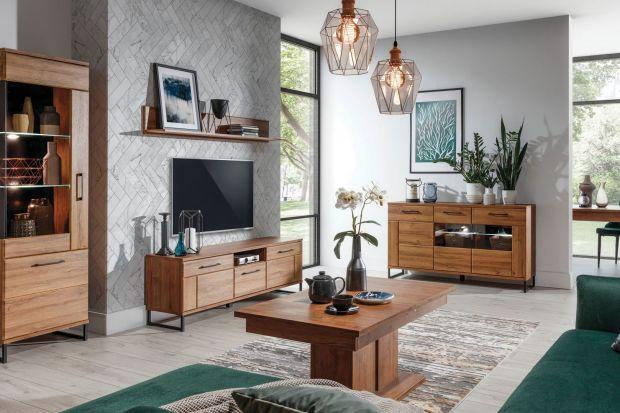 Jakie meble wybrać do stylowego salonu? Zobaczcie! Polecamy przegląd pięknych kolekcji mebli drewnianych i w kolorze drewna.