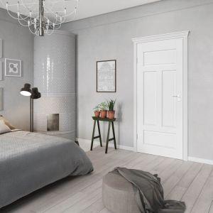 Drzwi z wyrazistymi żłobieniami idealnie odnajdą się we wnętrzu urządzonym w stylu klasycznym. Na zdjęciu: drzwi Morano. Fot. RuckZuck