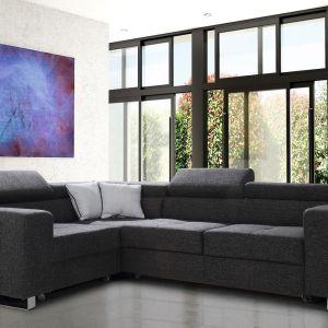 Narożnik do salonu z kolekcji Fabio dostępny w ofercie firmy Caya Design. Cena. Fot. Caya Design