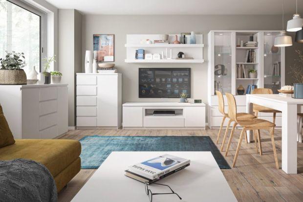 Jak urządzić salon z białymi meblami? Jakie kolekcje mebli do salonu warto kupić? Zobaczcie nasze zestawienie 12 ciekawych pomysłów na białe meble do salonu!