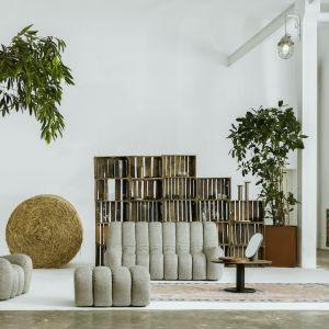 Sofa, fotel i pufa Wadi, stolik Oo Sofa, fotel i pufa Wadi, stolik Oo projektu Tomka Rygalika. Fot. Nobonobo