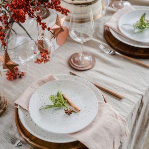 Świąteczna aranżacja stołu. Fot. VOX