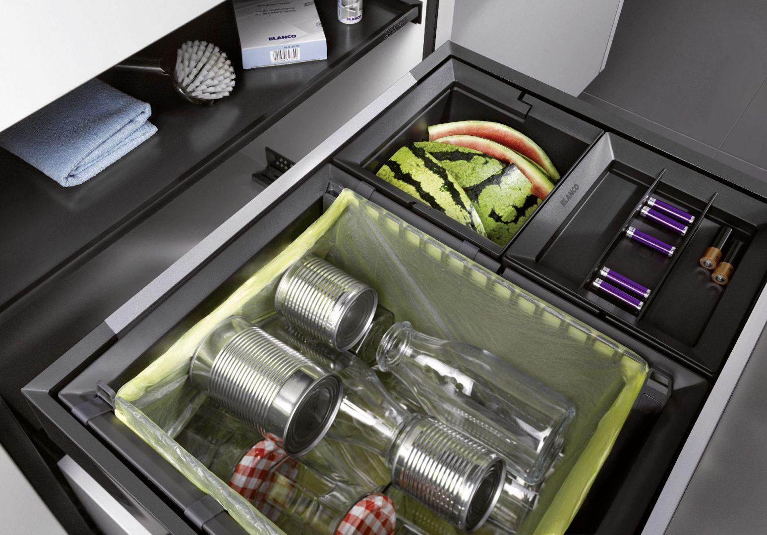 Segragacja odpadów to ważna kwestia, którą musimy przewidzieć w naszej kuchni.  Fot. Blanco/Comitor