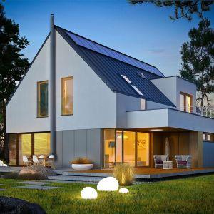 Projekt Adam G2 Energo Plus to doskonała harmonia między nowoczesnością a przytulnością. Projekt: pracownia Archipelag