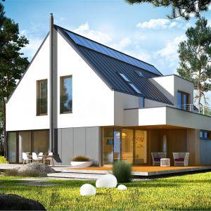 dom jest ekologiczny i tani w użytkowaniu, a do tego piękny i bardzo funkcjonalny. Projekt: pracownia Archipelag