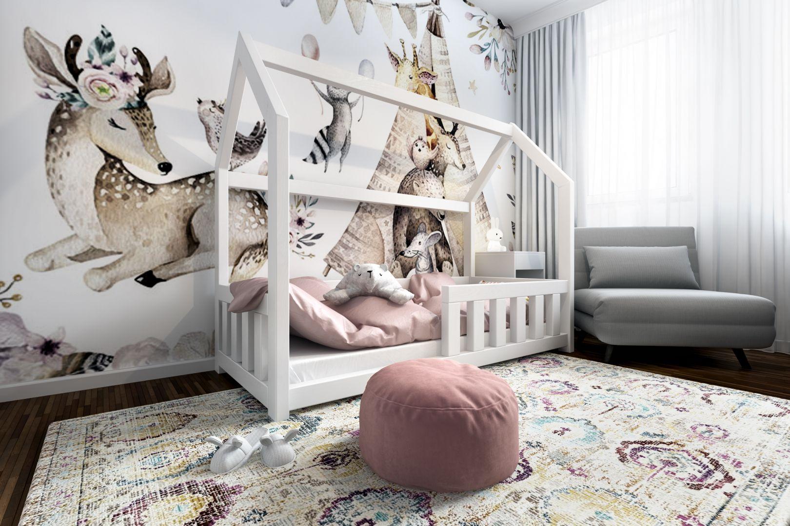 Pomysł na pokój dziecka - piękny i pobudzający wyobraźnię. Projekt: Marta Ogrodowczyk-Trepczyńska, Marta Piórkowska, Oktawia Rusin. Wizualizacje: Elżbieta Paćkowska
