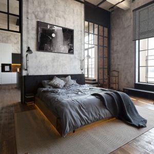 Jeśli zależy nam na maksymalnej ciemności w sypialni, powinniśmy zdecydować się na tkaniny typu blackout, które nie przepuszczają promieni słonecznych. Fot. Marcin Dekor
