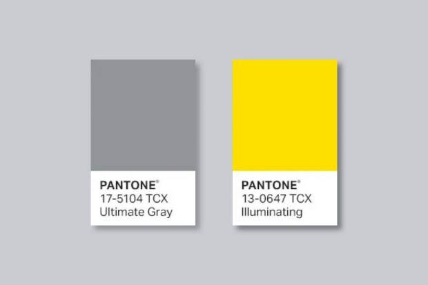 Kolory roku Pantone 2021: Ultimate Gray i Illuminating
