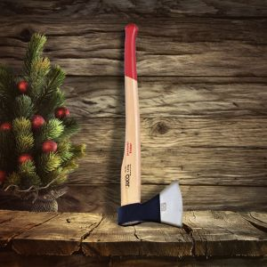 Narzędzia ręczne JUCO - wyprawa po drzewko świąteczne - siekiera standard