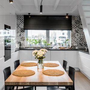Kuchnia jest nowoczesna i bardzo wygodna. Projekt i zdjęcia: Monika Staniec