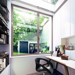 Okna i drzwi powinny odpowiadać na nasze potrzeby wysoką funkcjonalnością i dobraną przez nas estetyką. Decydując się na wyroby wykonane z aluminium, zrealizujemy jedne i drugie. Fot. Ponzio