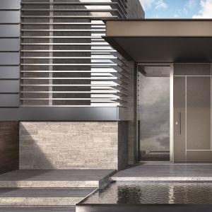 Okna i drzwi z aluminium są bardzo wytrzymałe, stabilne, łatwe w obsłudze. Fot. Ponzio