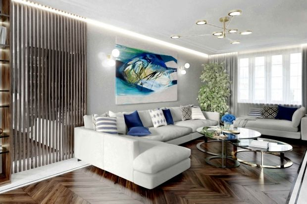 Lampa to kropka nad i salonowej aranżacji. Nie tylko doświetla przestrzeń, ale też dodaje mu charakteru.