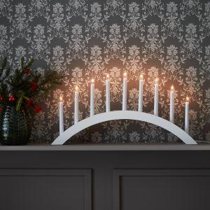 Świąteczne dekoracje świetle w skandynawskim stylu. Fot. Markslojd