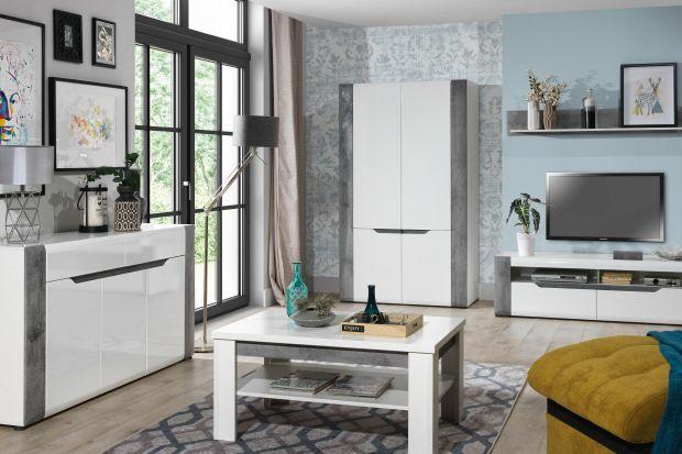 Białe meble to świetny pomysł do nowoczesnego salonu. Są ponad uniwersalne i ponadczasowe. Będą pasowały do każdego koloru i do każdego materiału wykończeniowego.