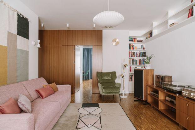Mieszkanie w stylu vintage: świetne wnętrze z Warszawy