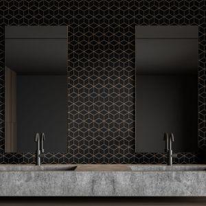 Propozycja matowych płytek do łazienki. Nowość 2020  marki Raw Decor. Fot. Raw Decor
