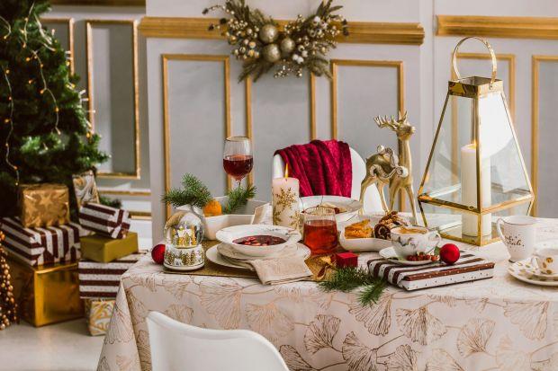 Boże Narodzenie to szczególny czas, który chcemy spędzić z bliskimi w wyjątkowy sposób. Eleganckie złoto i klasyczna czerwień to połączenie, które z pewnością cię nie zawiedzie! Zobacz pomysł na świąteczną dekorację stołu, która będ