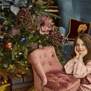 Piękna i szykowna choinka - pomysł marki Miloo Home na święta 2020. Fot. Miloo Home