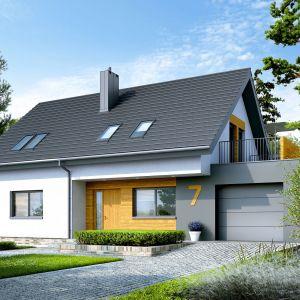 Zwarta bryła i prosty, dwuspadowy dach pozwalają ograniczyć koszty budowy i zminimalizować straty ciepła. Projekt: pracownia Archipelag