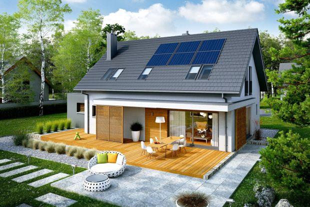 Nowoczesny i komfortowy dom z poddaszem, który w pełni odpowiada na wszystkie współczesne potrzeby. Dzięki swojej prostej konstrukcji projekt jest szybki i tani w budowie, a ponadto bardzo ciepły oraz ekonomiczny w użytkowaniu.