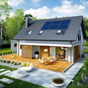 Projekt Logan G1 to świetny wybór dla wszystkich, którzy szukają nowoczesnego i energooszczędnego domu z poddaszem. Projekt: pracownia Archipelag