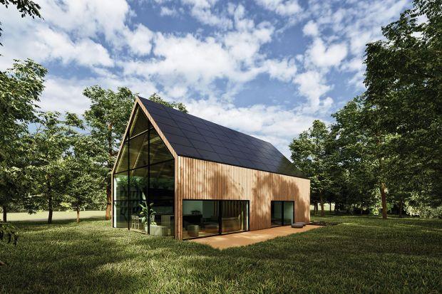 Dom w typie stodoły inspirowany Skandynawią