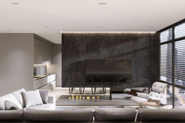 116-metrowe mieszkanie w nowoczesnym, minimalistycznym i chłodnym stylu zwraca uwagę przestronnością,niepowtarzalnym rytmem pionowych i poziomych płaszczyzn, grą światła i cienia oraz ciekawymi fakturami i materiałami.