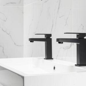 Kolekcja baterii Logon idealnie pasuje do łazienek w loftowym i nowoczesnym stylu. Cena: 380 zł. Producent: Armatura Kraków